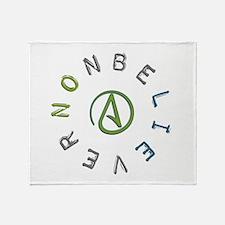 Nonbeliever Throw Blanket