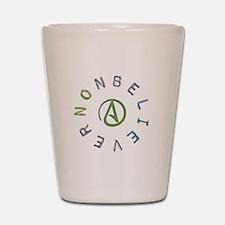 Nonbeliever Shot Glass