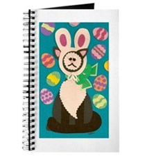 Mad Easter Cat Journal