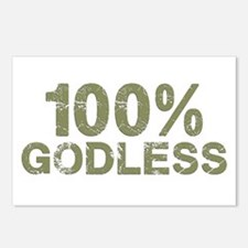 100 Percent Godless Postcards (Package of 8)