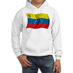 Wavy Venezuela Flag Hoodie