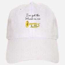 TRUMPET PLAYER Baseball Baseball Cap