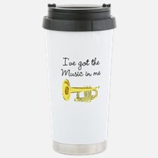 TRUMPET PLAYER Stainless Steel Travel Mug