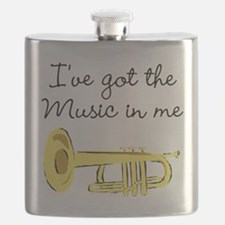 TRUMPET PLAYER Flask