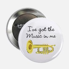 """TRUMPET PLAYER 2.25"""" Button (100 pack)"""