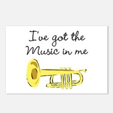 TRUMPET PLAYER Postcards (Package of 8)