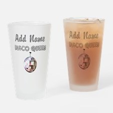 DISCO QUEEN Drinking Glass
