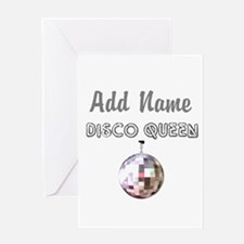 DISCO QUEEN Greeting Card