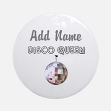 DISCO QUEEN Ornament (Round)
