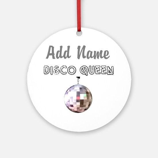 DISCO QUEEN Ornament (Round)