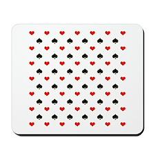 Spades and Hearts Mousepad