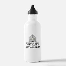 Nut Allergy Water Bottle