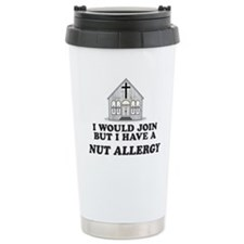Nut Allergy Travel Mug