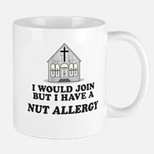 Nut Allergy Mug