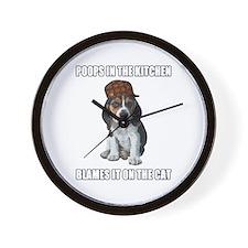 Scumbag Beagle Wall Clock