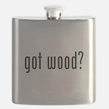 Got Wood Flask