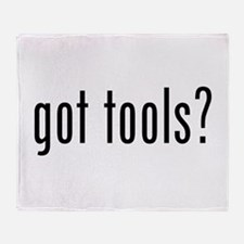 Got Tools Throw Blanket