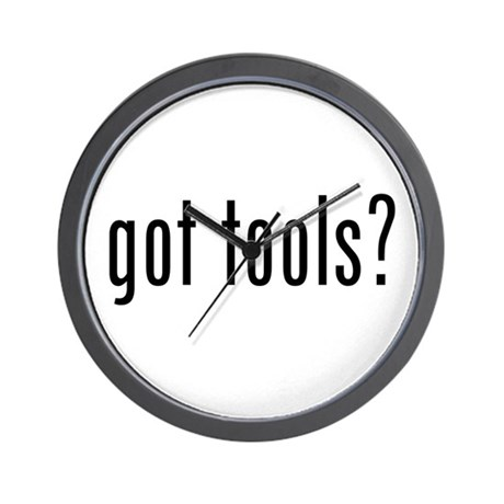 Got Tools Wall Clock