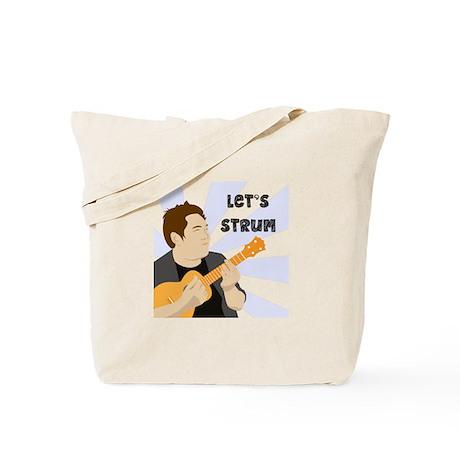 Let's Strum! Tote Bag