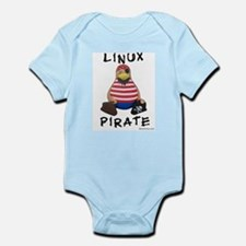 Linux Pirate Infant Creeper