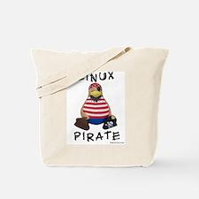 Linux Pirate Tote Bag