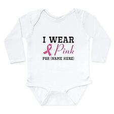 Wear Pink Long Sleeve Infant Bodysuit