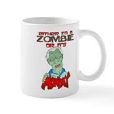 Zombie or Monday? Mug