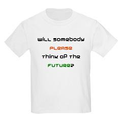 Kids T-Shirt - think future