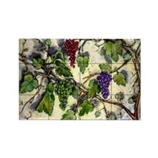 Best Seller Grape Rectangle Magnet