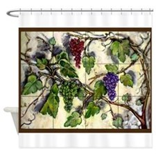 Best Seller Grape Shower Curtain