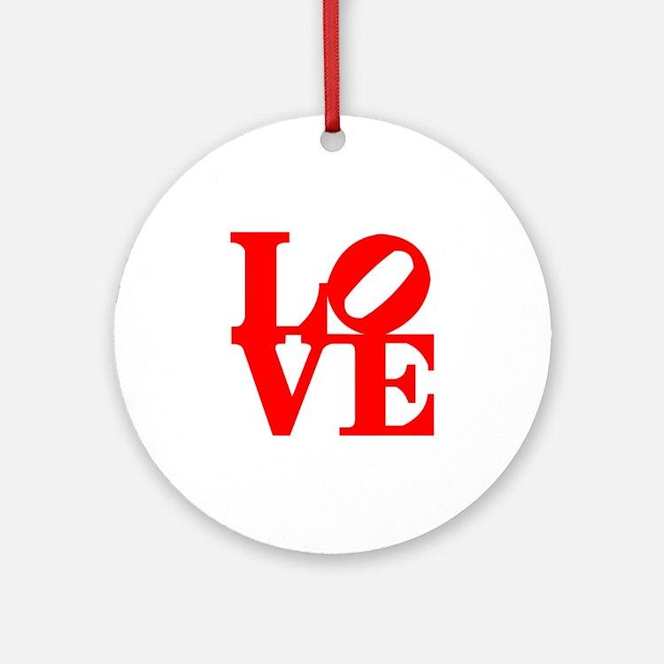 Love Ornament (Round)