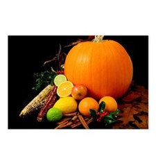 Fall Harvest Postcards (Package of 8)