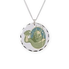 Creature from the Black Lagoon Circle Necklace