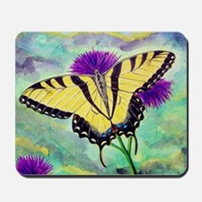 SUMMER TIME SWALLOWTAIL BUTTERFLY Mousepad