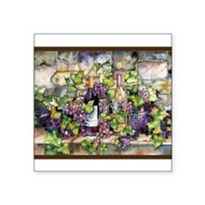 "Best Seller Grape Square Sticker 3"" x 3"""