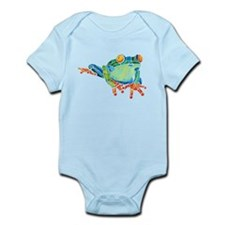 Crazy Tree Frog Infant Bodysuit