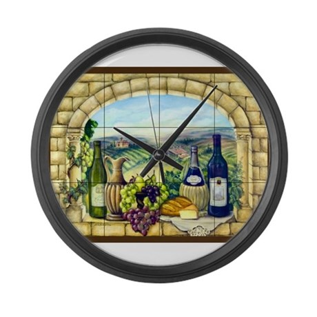 Best Seller Grape Large Wall Clock By The Jersey Shore Store