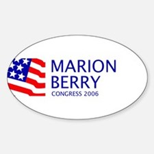 Berry 06 Oval Decal