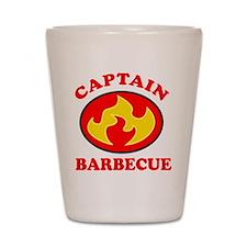 Captain Barbecue Shot Glass