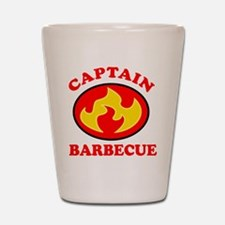 Captain Barbecue Shot Glass