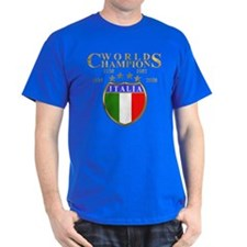 Italia Gold World Champions T-Shirt
