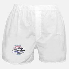 All Dolphins Lets Swim Together Boxer Shorts