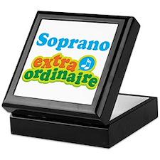 Soprano Extraordinaire Choir Keepsake Box