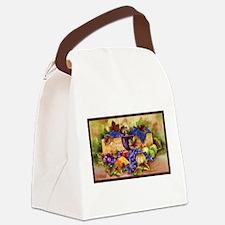 Best Seller Grape Canvas Lunch Bag