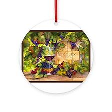 Best Seller Grape Ornament (Round)