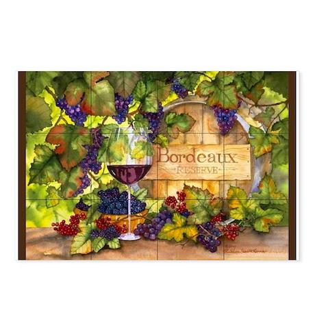 Best Seller Grape Postcards (Package of 8)