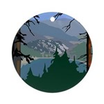 Pinecrest, CA Ornament (Round)