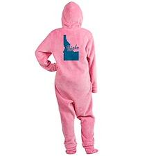 3-idaho.png Footed Pajamas