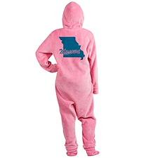 3-missouri.png Footed Pajamas