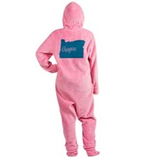 3-oregon.png Footed Pajamas